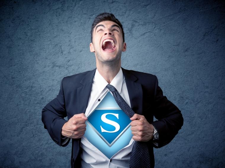 super power person